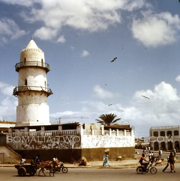 Gand Mosque Minaret