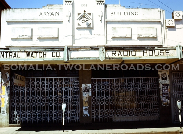 Central Watch Co. - Aryan Building 1938